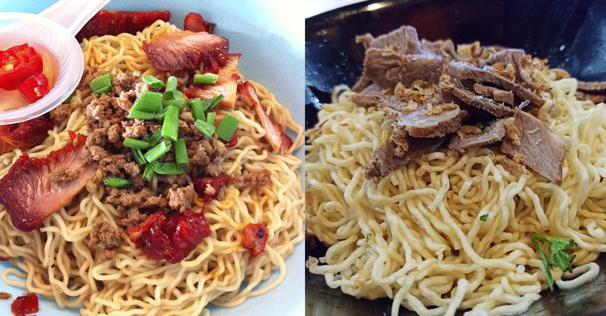 6 Noodle Places To Order Sarawak Kolo Mee in Klang Valley