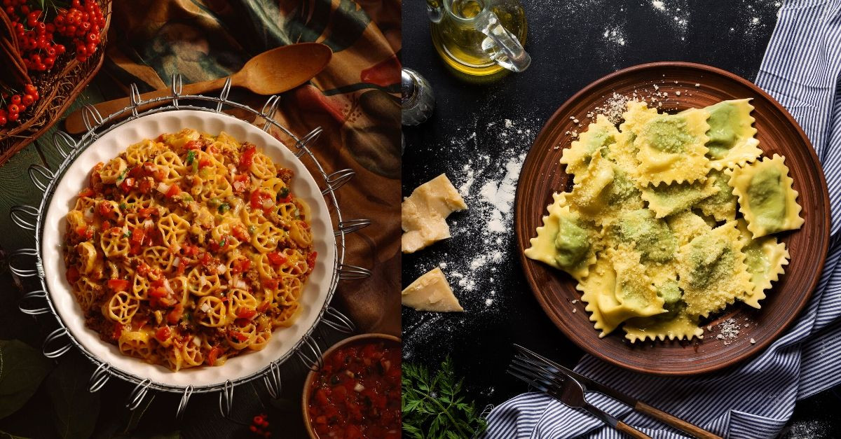 10 Fancy Types Of Pasta And What They Go Well With